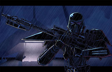 Rogue One Deathtrooper by dcjosh