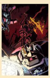 Optimus Prime 5 cover by dcjosh