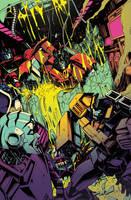 Optimus Prime 9 cover by dcjosh