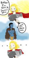 Thor to the rescue.......? by SeniorPotato
