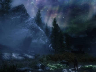 Mysterious Sovngarde by AntaresPyat