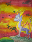 Spyro and the Dawn of the Dragons by DragonDrawer102