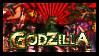 Godzilla Videogame Stamp by DragonDrawer102
