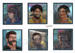 Tiny Portraits by Sgt-Sahara