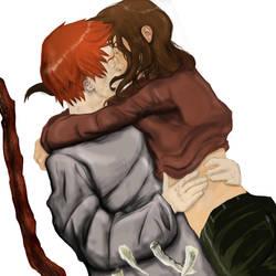 Ron y Hermione by ReverendoGore