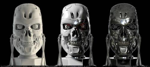 Terminator shaders by mogcaiz