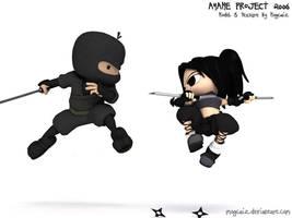 Ayame - Air Duell by mogcaiz