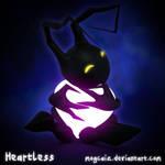 KH: Valentine's Heartless by mogcaiz