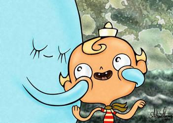 Flapjack Loves Bubbie by AthenaTT