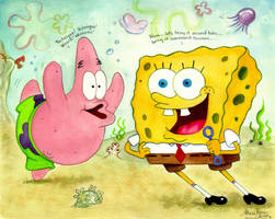 Spongebob Bring It Around Town by AthenaTT