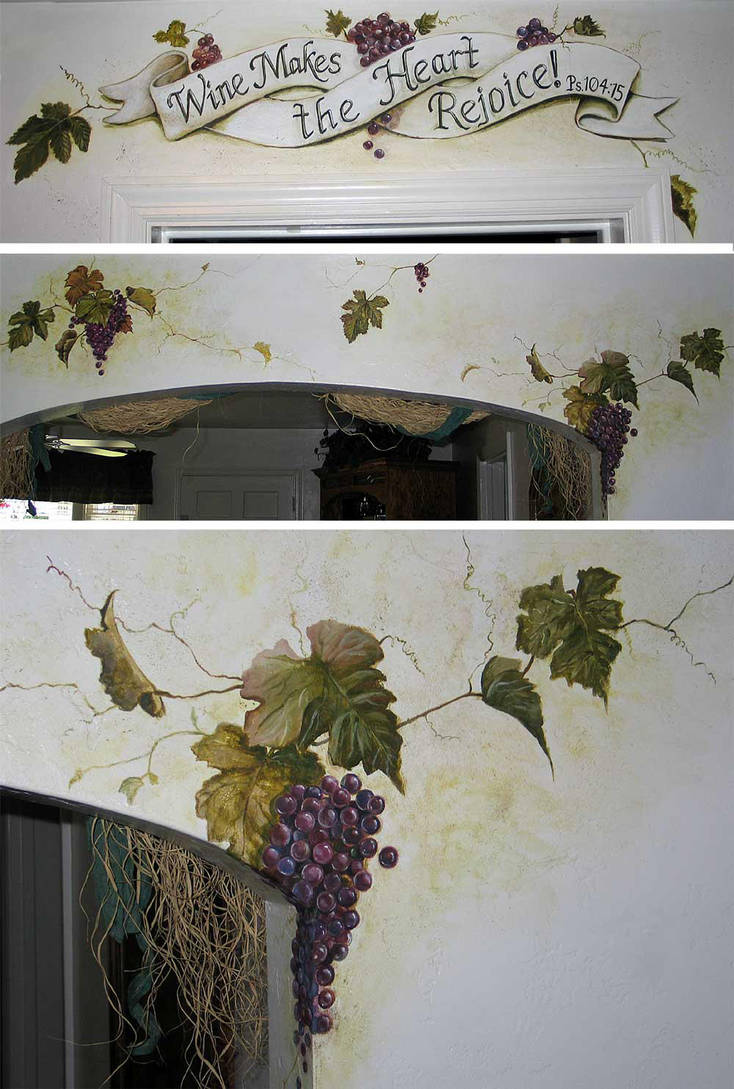 Grapevine Mural by AthenaTT