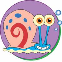 Smiling Gary The Snail by AthenaTT