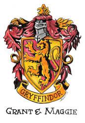 Gryffindor crest by athenatt by AthenaTT