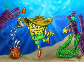 Spongebob's Garden Contest by AthenaTT
