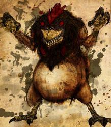 Ghostbusters - Werechicken by T-RexJones