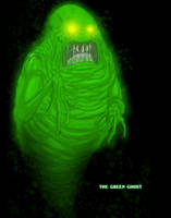 Ghostbusters - The Green Ghost by T-RexJones