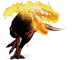 Tyrannosaurus Death by T-RexJones