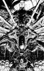 Alien Day Screening Poster by T-RexJones
