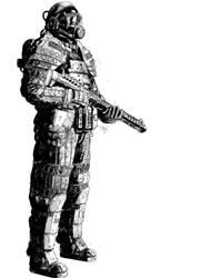 Security Suit by T-RexJones