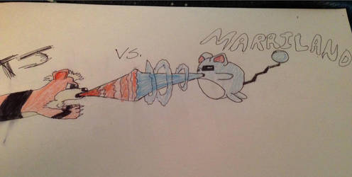 TJ vs. Marriland! by FieryGrowlithe115