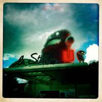 THE BAD GAZOLINE STATION by LEQUARK