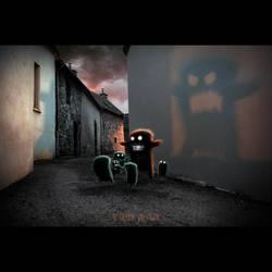 THE BAD STORYTELLER by LEQUARK
