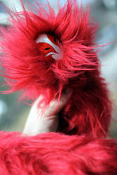 OOAK Nightmare Flame Spirit by Down-The-Stairs