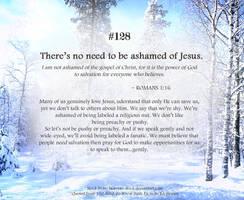 Bible Refresher 35 - Preach it...Gently by PoppyCorn99