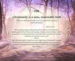 Bible Refresher 46 - Faith and Logic Work Together by PoppyCorn99