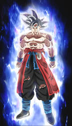Goku Xeno Mastered Migatte no Gokui by andrewdragonball