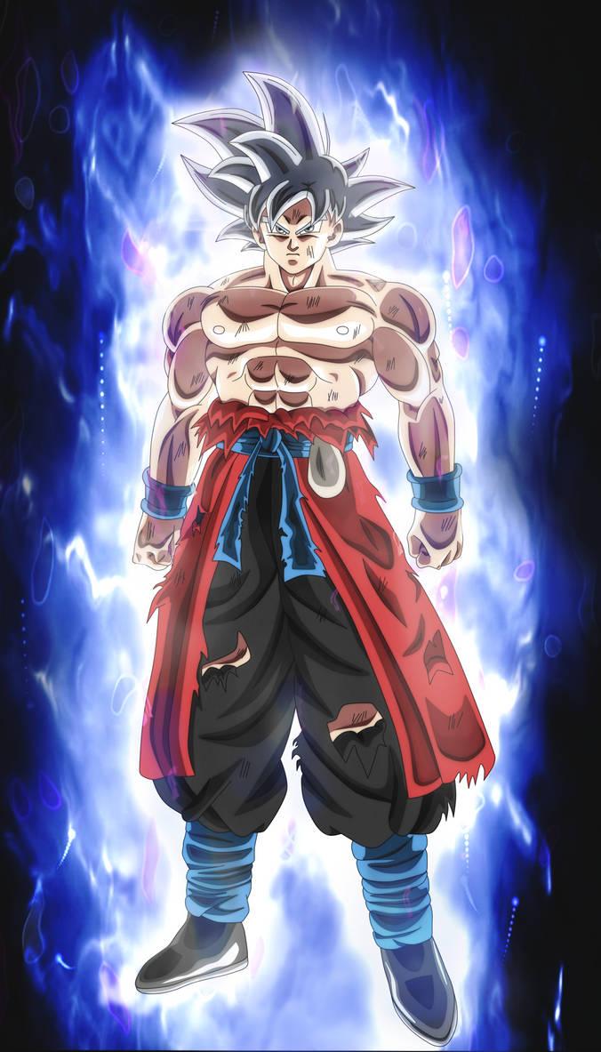 Goku xeno mastered migatte no gokui by andrewdragonball on deviantart - Imagenes de dragon ball super ultra instinto ...