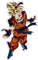 Goku Ssj Rage by andrewdragonball