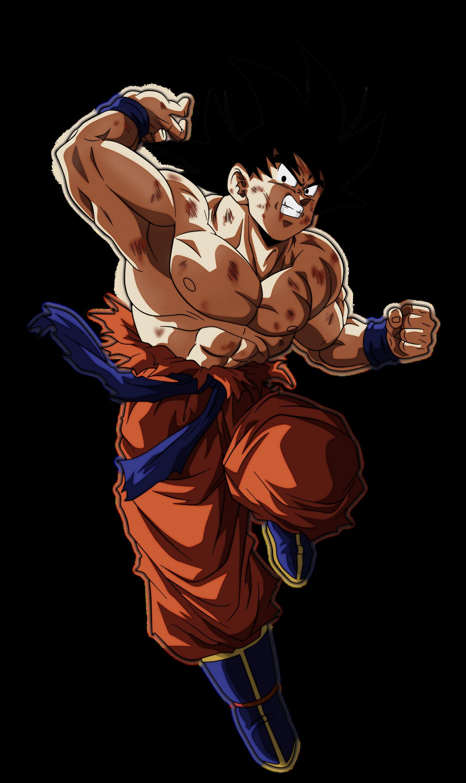 Goku by andrewdragonball