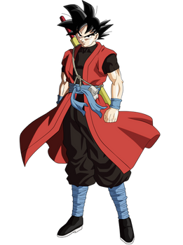 Goku Xeno by andrewdragonball