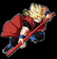 Goku Xeno Ssj by andrewdragonball