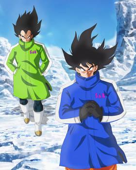 Goku and Vegeta New Movie by andrewdragonball