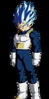 Vegeta Ssj Blue Evolution by andrewdragonball