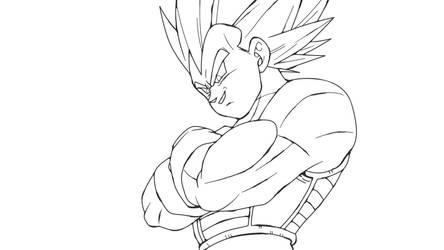 Vegeta Ssj Dragon Ball Super Broly by andrewdragonball