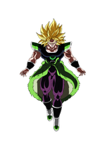 Broly Ssj by andrewdragonball