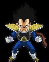Kid Vegeta Dragon Ball Super Broly by andrewdragonball