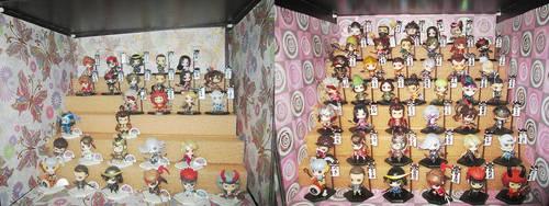 Chibi Samurai Collection - September 2016 by Kyouseme-Arasaki