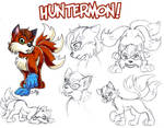 Huntermon - Character Sheet by cowgirlem