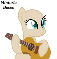 l + MLP Base + l Playin the Guitar by Mintoria