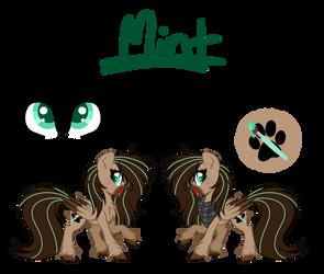 l + Mint - Main OC + l Official Ref 2018 by Mintoria