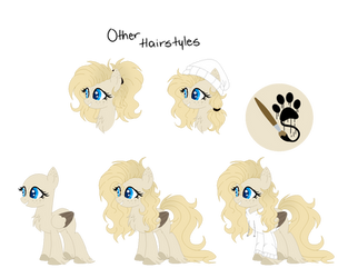 l + Official Ref 2018 - Ponysona + l Dusty by Mintoria