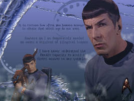 Star Trek-Spock and His Words by schematization