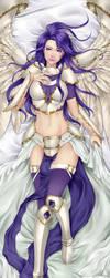 [Commission] Akroma dakimakura by mogucho