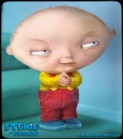 Stewie Untooned by pixeloo