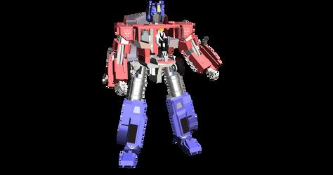 MMD Optimus Prime find by deviantoptimus