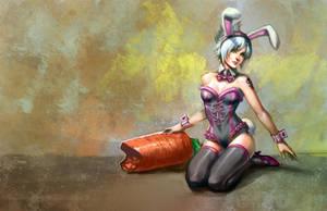+Bunnygirlriven+ by Orenji-kun